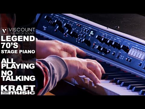 Viscount Legend '70s Stage Piano - All Playing No Talking