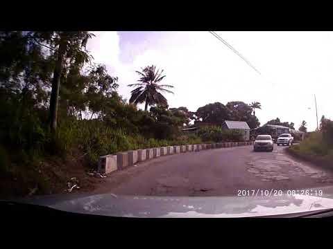 Driving In Barbados - Interesting drive to Bathsheba