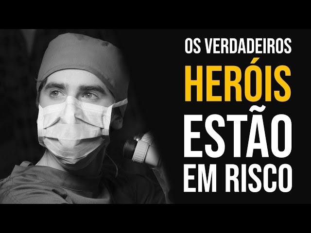 AGRADEÇA TODOS OS DIAS OS VERDADEIROS HERÓIS - NANDO PINHEIRO SÉRIE CORONAVÍRUS