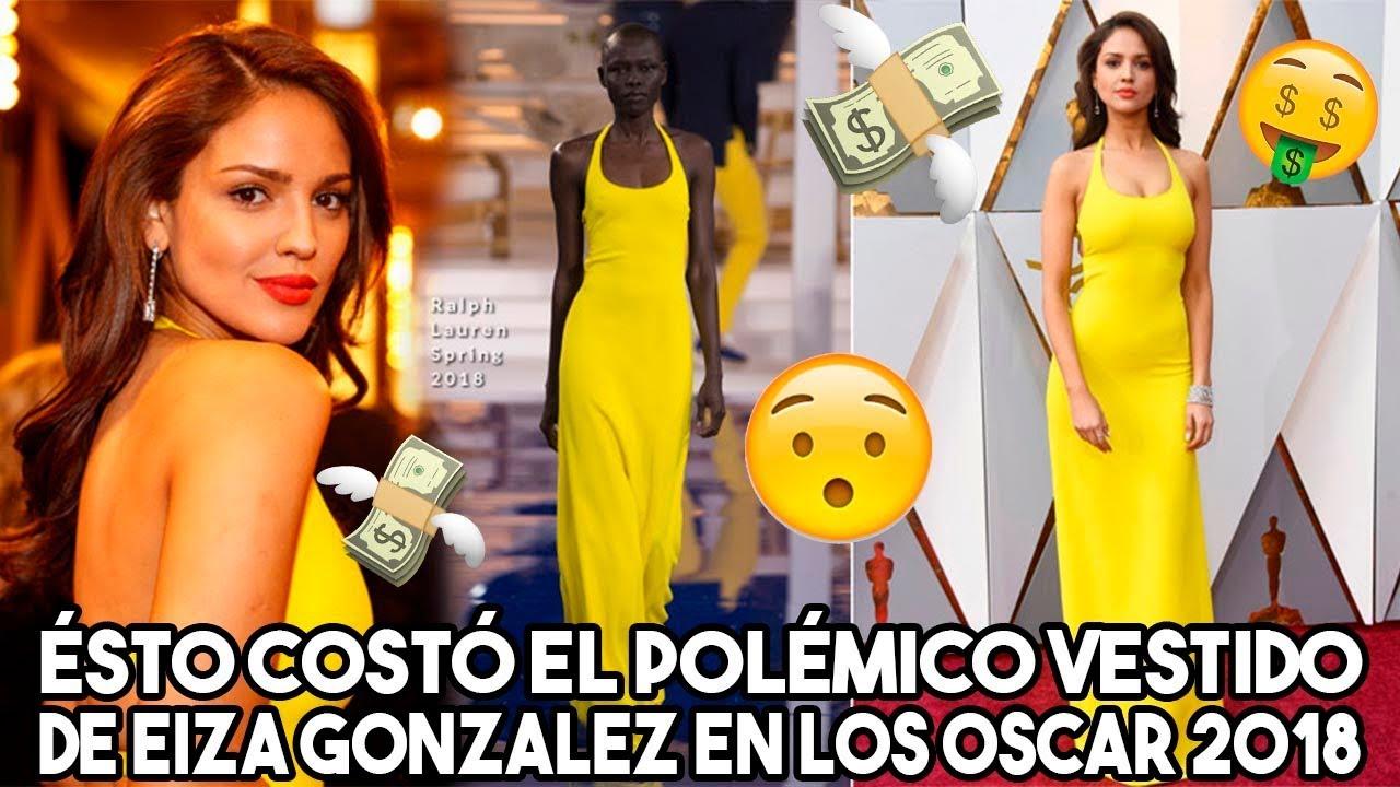 ésto Costó El Polémico Vestido De Eiza Gonzalez En Los Oscar 2018