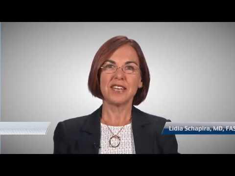 Introducción de los estudios clínicos, con la Dra Lidia Schapira