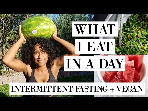 What I Eat In A Day Intermittent Fasting & Vegan