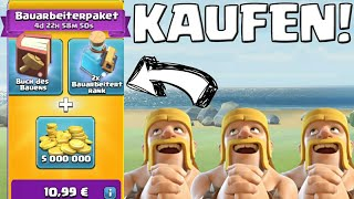 Das Bauarbeiterpacket! || Clash of Clans || Let