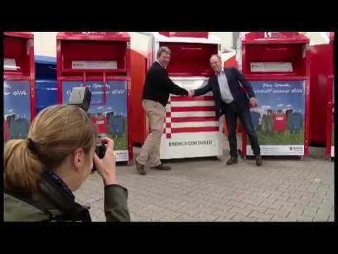 Wegweisend  Erste klimaneutrale Altkleider-Container in Europa - YouTube e8f784a835