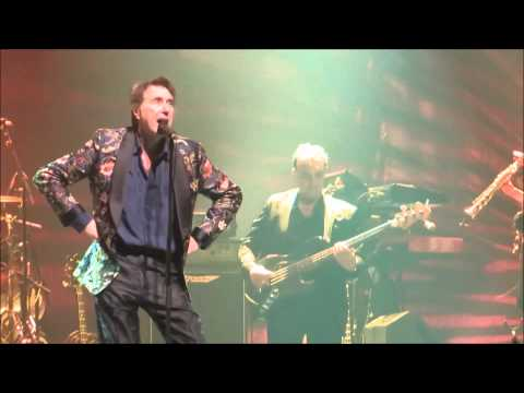 "Bryan Ferry-""VIRGINIA PLAIN""(Roxy Music)Live 4.14.14-Fox Theater, Oakland (Glam-Brian Eno)[HD]"