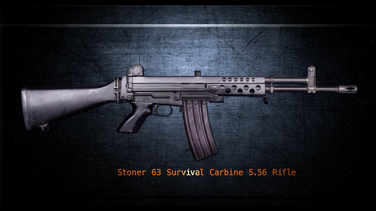 Stoner 63 survival carbine gun talk with jerry tarble youtube altavistaventures Image collections