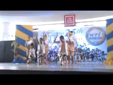 WRI Colleges 25th  Foundation Anniversary   Foreign Dance WRI Metro Partido