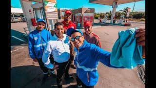 #24FOR24 - VLOG 142 -  خدمت فبومبا دليسونس لمدة يوم - GAS STATION ATTENDANT FOR A DAY