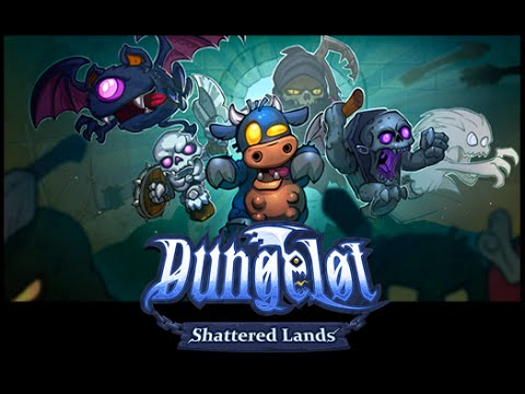 DUNGELOT SHATTERED LANDS iOS Gameplay