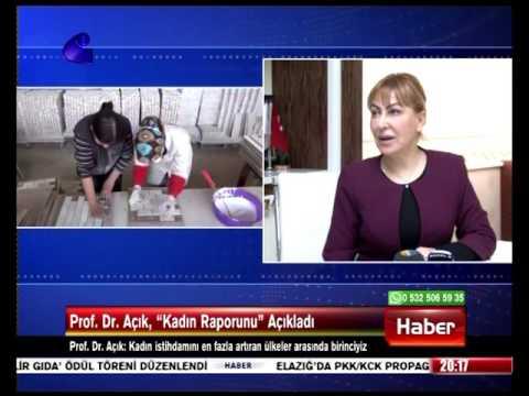 """Prof. Dr. Yasemin Açık, """"Kadın Raporunu"""" Açıkladı. 07.03.2017 Kanal E"""