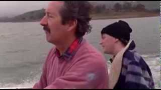 The Castle Bonnie Doon fishing scene