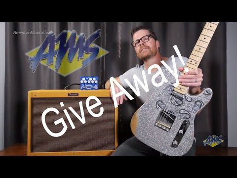 Fender Brad Paisley Telecaster, Fender Hot Rod Deluxe 3 and Wampler Paisley Drive Deluxe GIVE AWAY