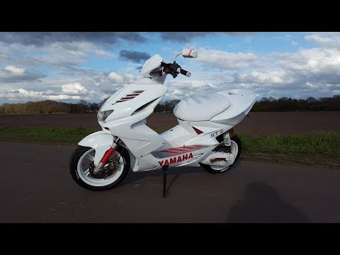 Yamaha Aerox Tuning Story 2018 | AngelRox | StreetRox