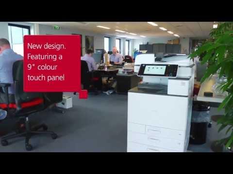 RICOH MPC5503 多功能彩色影印機 影印/印表/掃描/傳真  首款擁有商用印表機能力的辦公室多功能事務機