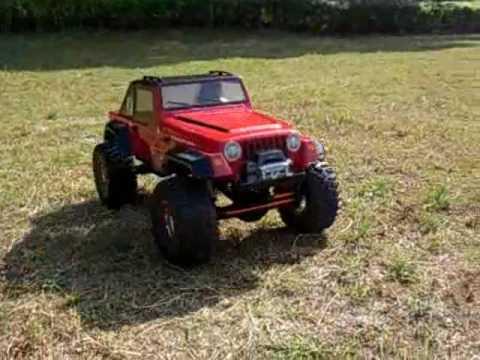 Axial Ax10 Jeep Rubicon Rc Scale Crawler Youtube