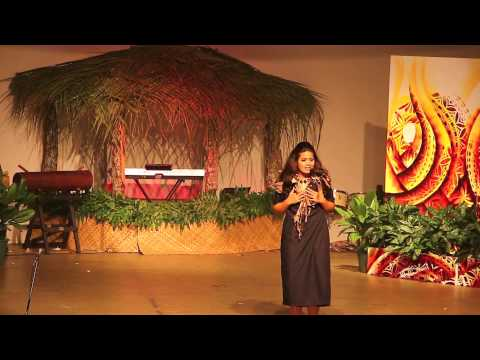 Contestant No.6 -- Newly crowned Miss American Samoa Eleitino Maailopa Tuiasosopo