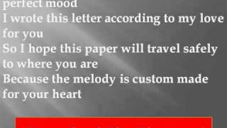 R. Kelly - Love Letter Lyrics