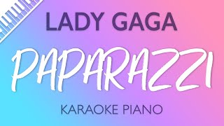 Lady Gaga Paparazzi Karaoke Piano.mp3