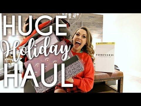 HUGE HOLIDAY HAUL - Clothing & Accessories Online Shopping Spree