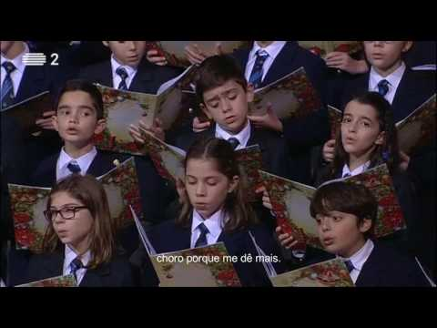 Eu hei de m'ir ao presépio | children choir with piano