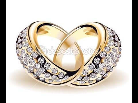Обручальные кольца с бриллиантами - фото 2017 / Wedding rings with diamonds