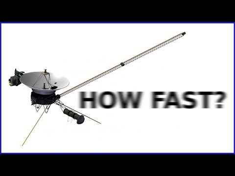 Voyager 1 SPEED Compared to Other Fast Things