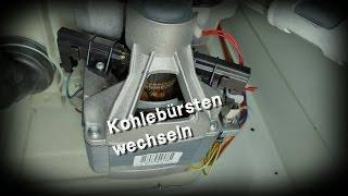 Kohlebürsten wechseln (Waschmaschine)