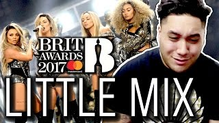 Little Mix - Shout Out to My Ex (The BRIT Awards 2017) REACTION!!!