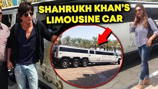 Shahrukh Khan's Royal Estate Limousine Car | Only PM MODI Got To Sit In This Car