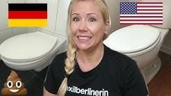 Amerikanische Toilette vs. Deutsche Toilette 🚽💩| Sissi die Auswanderin 🇺🇸