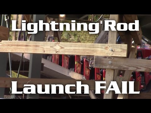 Lightning Rod ROLLBACK and FAILED LAUNCH Dollywood