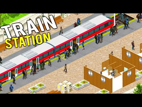 BUILDING THE MOST SUCCESSFUL TRAIN STATION COMPANY IN THE WORLD! - Train Station Simulator Gameplay