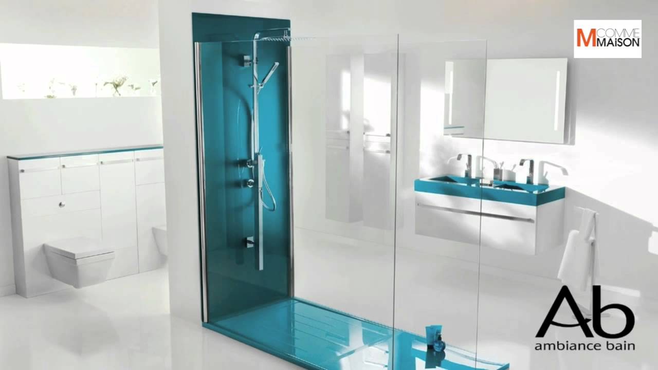 la salle de bain en 2012 par ambiance bain bathroom in 2012 by ambiance bain youtube. Black Bedroom Furniture Sets. Home Design Ideas