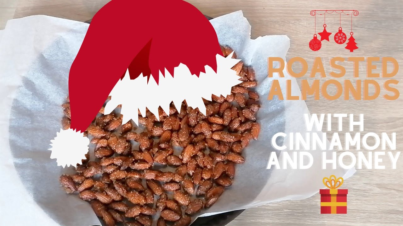 Roasted Almonds with Cinnamon and Honey | Christmas Gift Idea | Thermomix Recipe