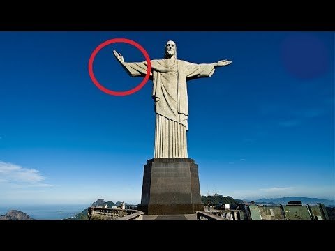 5 Jesus Statuen die sich im Video bewegten