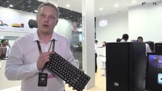 computex 2014: Cooler Master Novatouch Keyboard