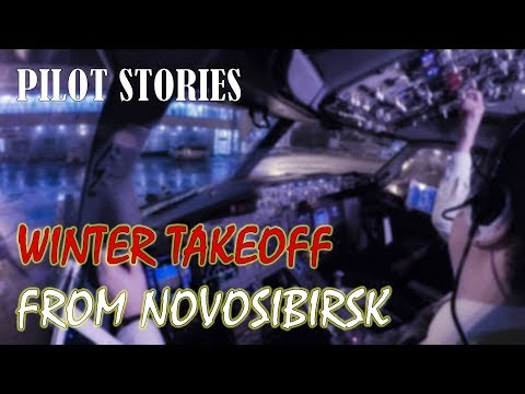 Pilot stories: Winter flight from Novosibirsk to Moscow
