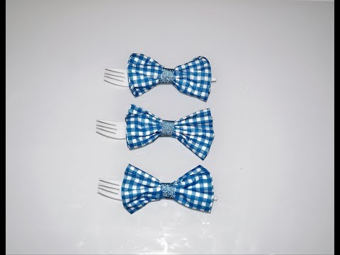 Baby shower decorations ideas | How to make paper napkin bow ties | Sugarella Sweets Party