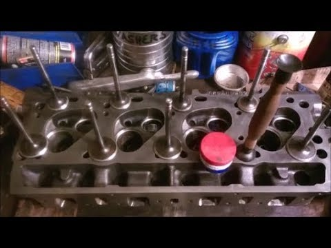 ENGINE BUILD 1of2 345 IH v8