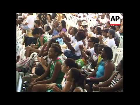 Passion and romance at Rio carnival