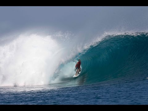 """Freedom fighter finds liberty in epic indonesian surf session"", By Kepa Acero"