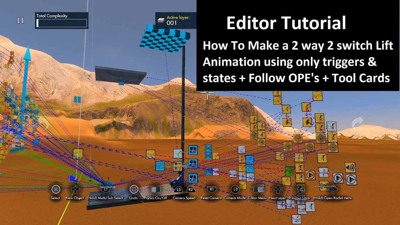 Trials Fusion Editor Tutorial How To Make A 2 Way Switch Lift Animation Elevator
