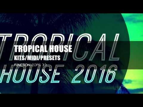 Tropical House 2016 - Sample Pack | Drums, Bass, Plucks, Pianos, Violins, Flutes | WAV/MIDI/Presets