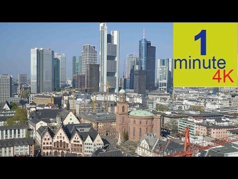 Frankfurt Skyline 4K
