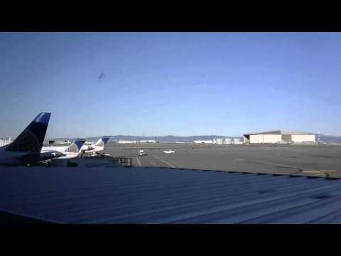 2015/12/15 サンフランシスコ国際空港 / San Francisco International Airport Webcam