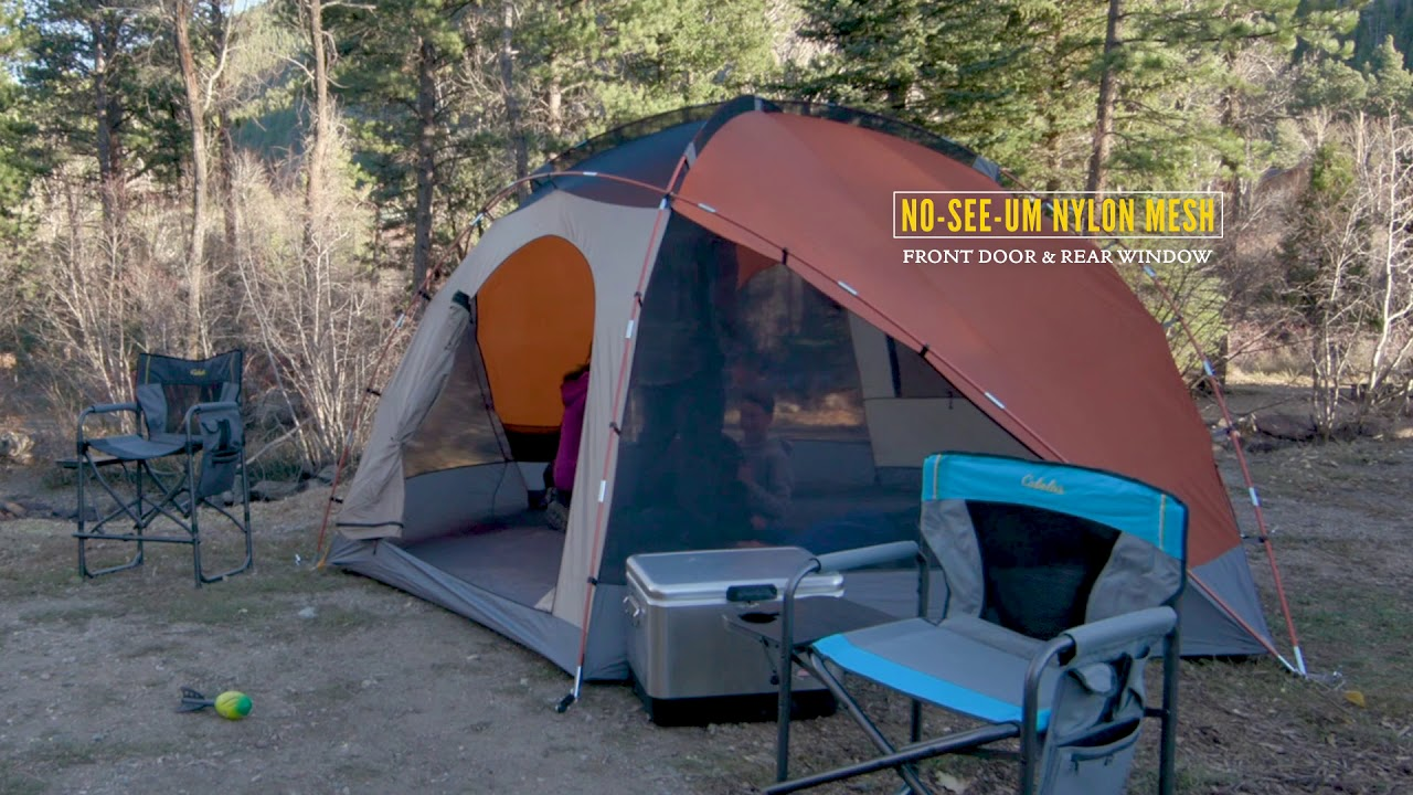 Cabelau0027s Westwind Dome Tents & Cabelau0027s Westwind Dome Tents - YouTube