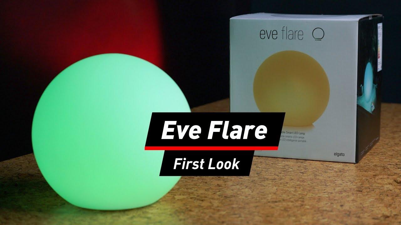 Praxis Led Lampen : Elgato eve flare smarte leuchte im praxis test youtube
