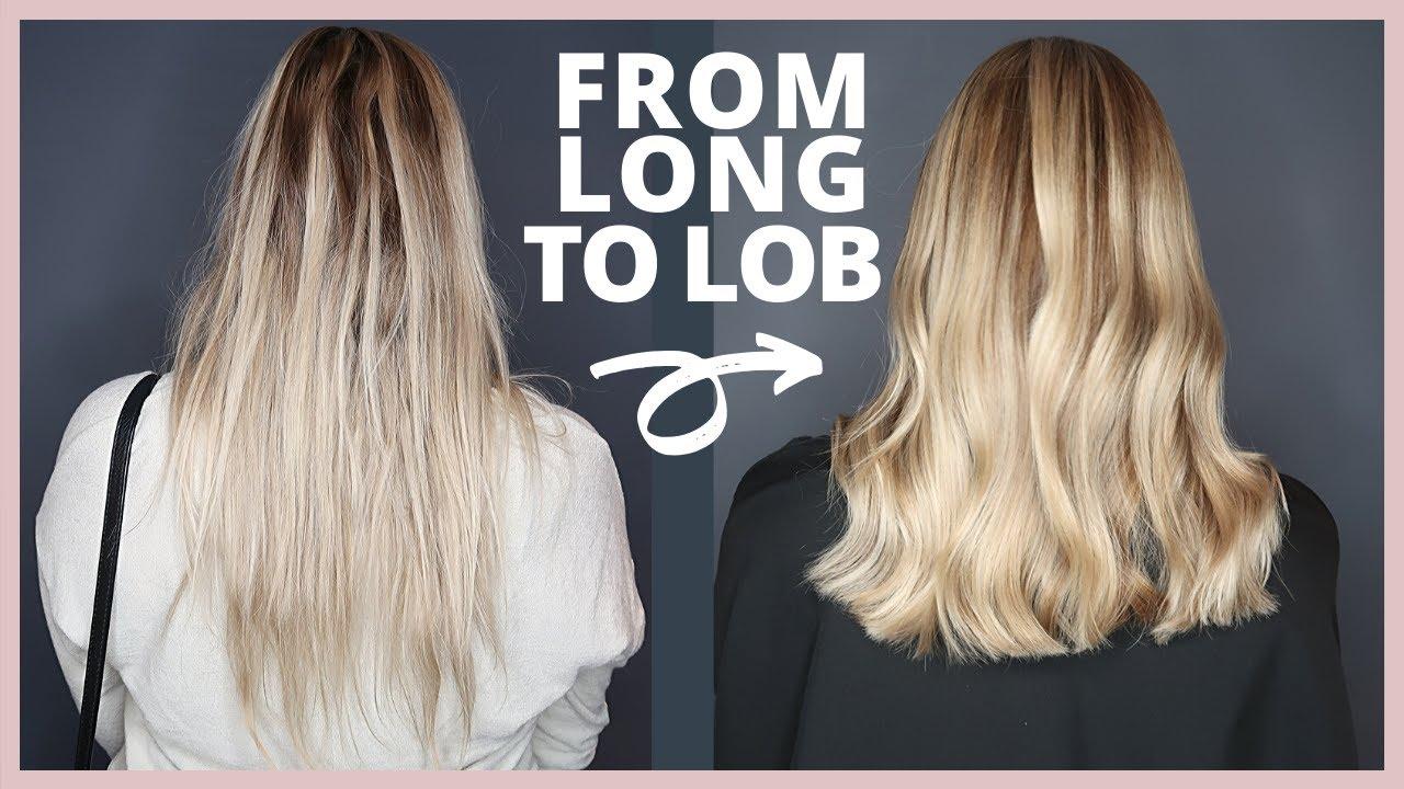From Long to Lob Haircut  Hair Transformation Vlog