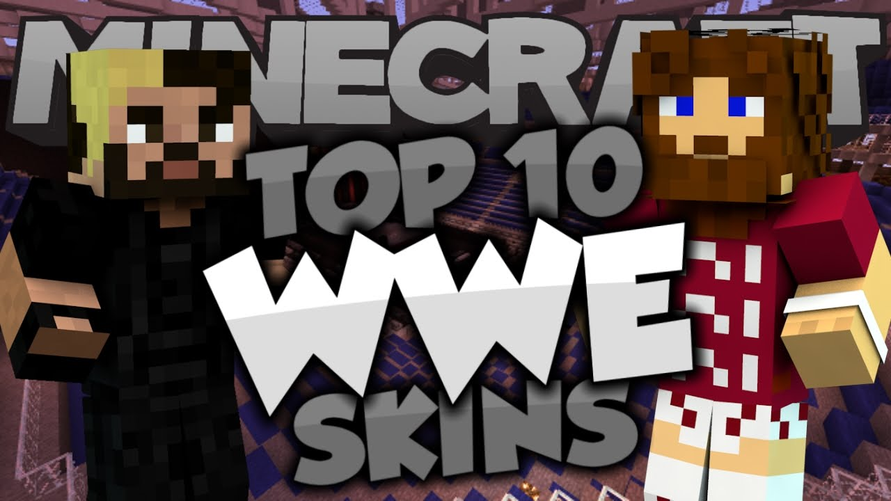 Top Minecraft WWE SKINS Best Minecraft Skins YouTube - Skin para minecraft pe wwe
