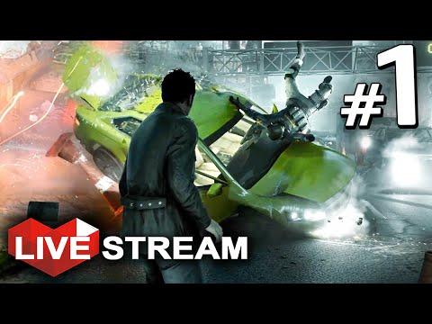 Quantum Break Gameplay | Super Powers Simulator!! | Act 1 Live Stream